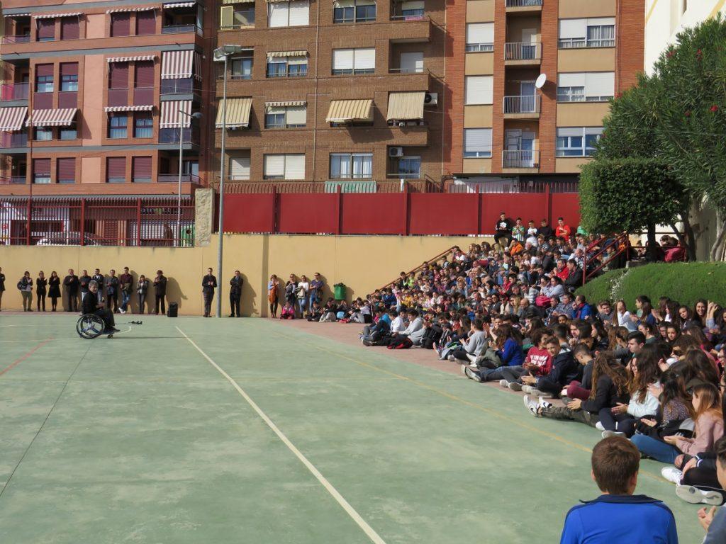 Benito Pérez ofrece una charla en el IES Cueva Santa (2)