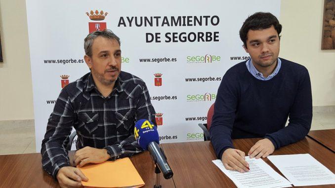 El Alcalde y el Concejal de empleo de Segorbe, en rueda de prensa