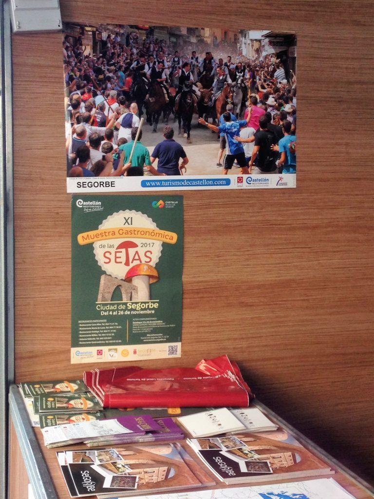 Parte del stand del Ayuntamiento de Segorbe en la Feria