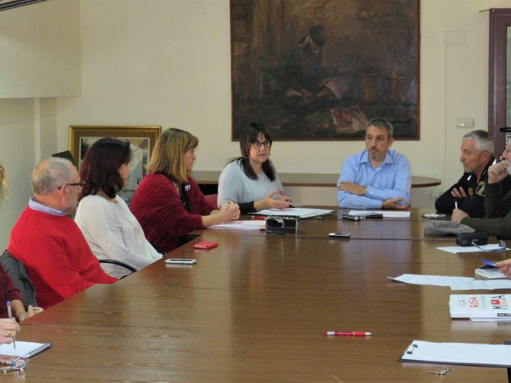 El Alcalde, Rafael Magdalena, y la Concejala de Sanidad, Yolanda Sebastián, presidieron el Consejo de Coordinación Intersectorial Local de Salud