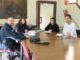 Reunión entre el IVAJ y el Ayuntamiento de Segorbe.