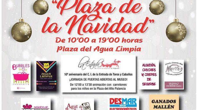 CARTEL MERCADO PLAZA DE NAVIDAD 2017 - SEGORBE