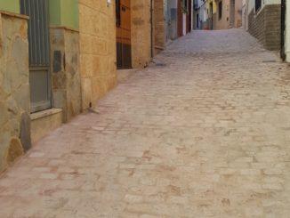 Calle María de Aragón de Segorbe