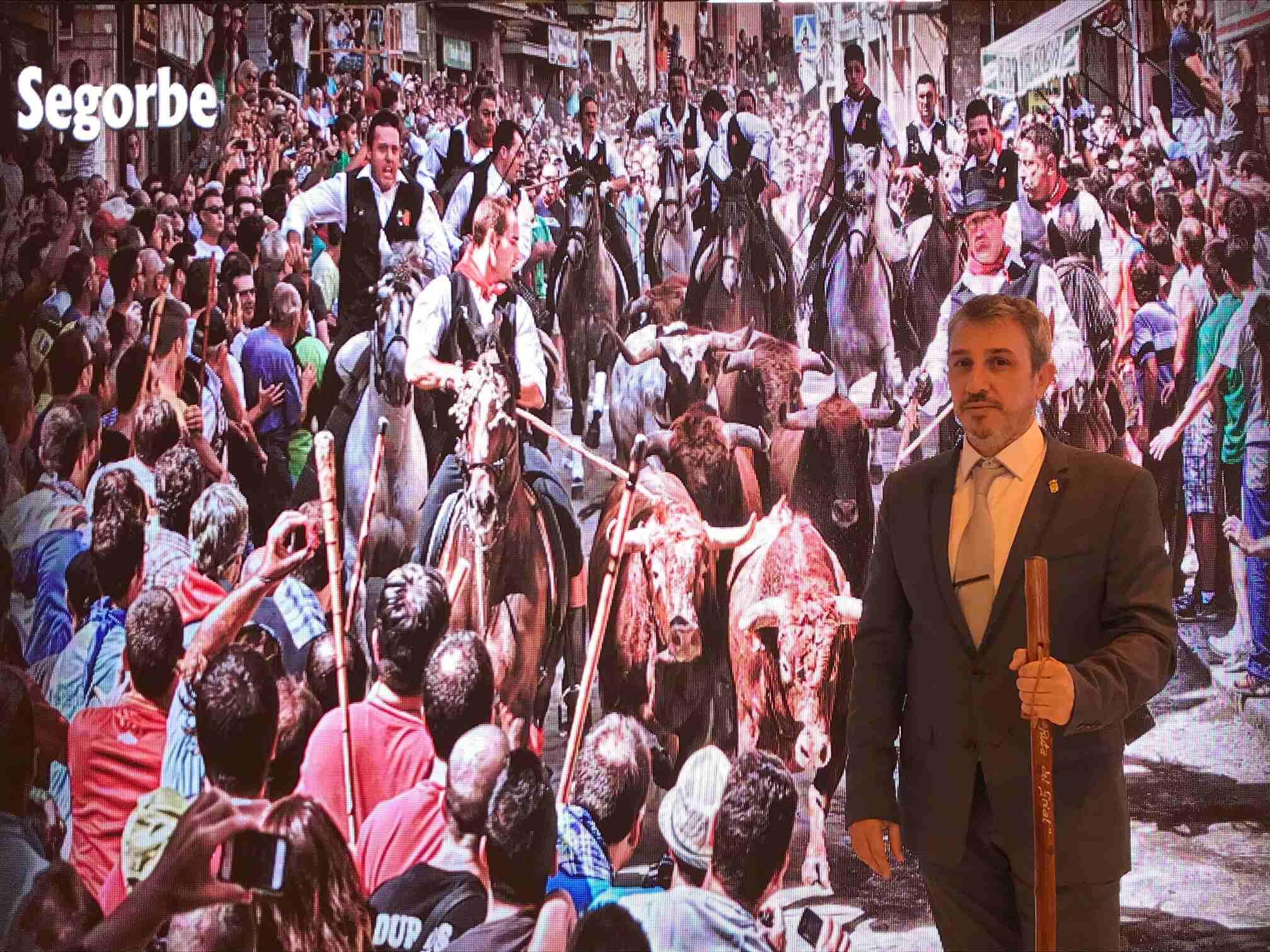 Rafael Magdalena presenta los atractivos turísticos de Segorbe en FITUR