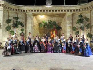 Reinas, Damas y Cortes de Honor 2017 de Segorbe