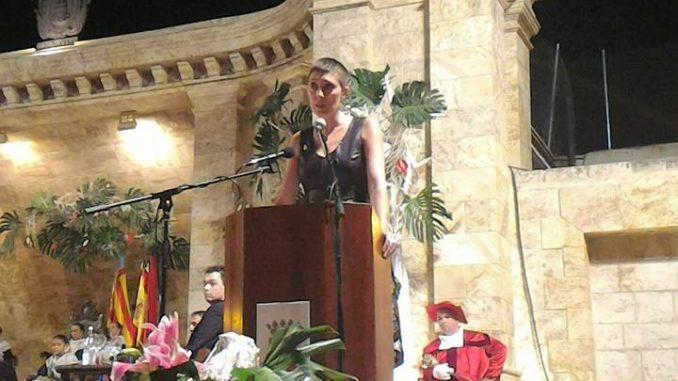 Anna Juesas fue la Mantenedora de la Reina Infantil 2017 de Segorbe