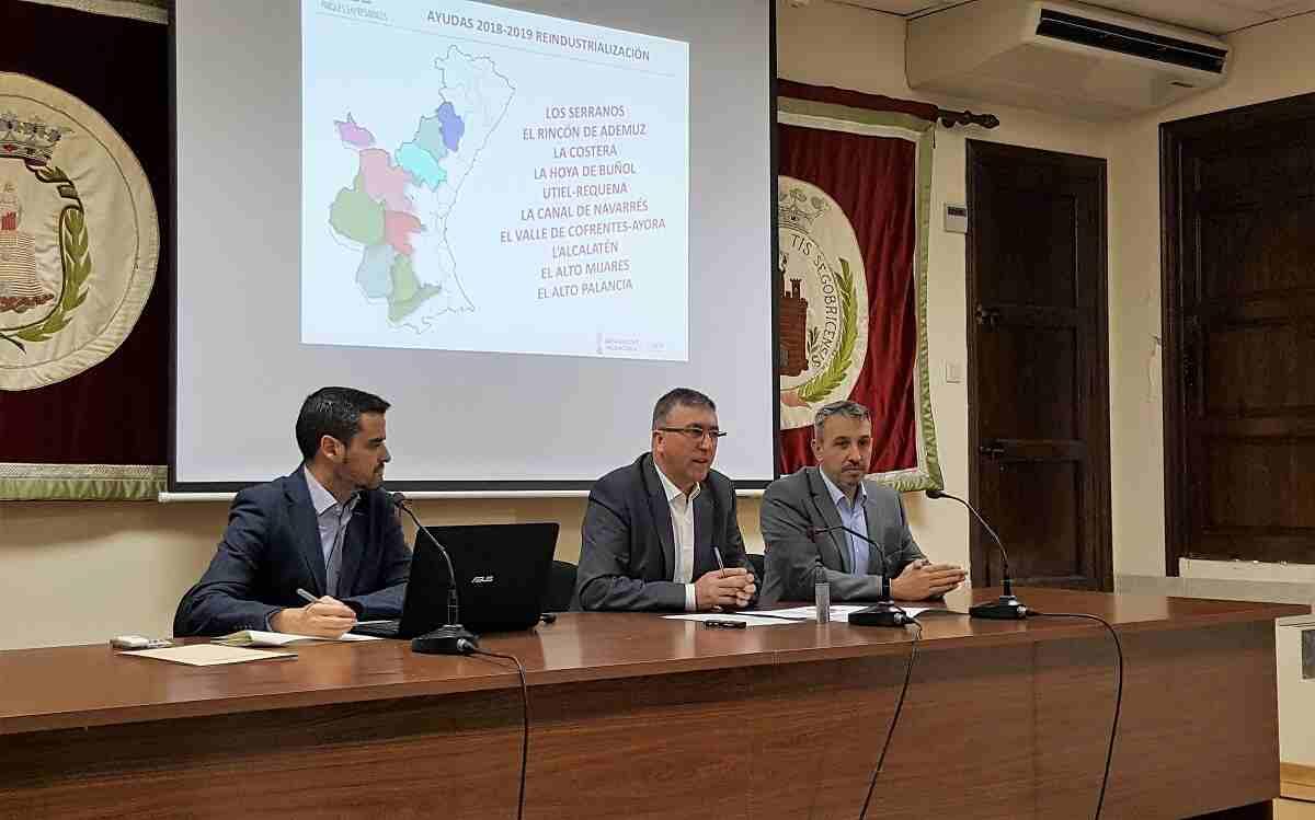 La reunión ha tenido lugar en el Salón de los Alcaldes del Ayuntamiento de Segorbe
