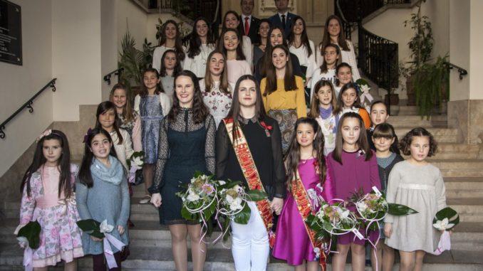 Elección de las Reinas, Damas y Cortes de Honor del año 2017
