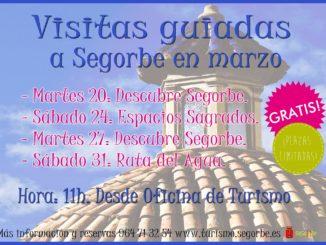 visitas guiadas gratuitas. Turismo Segorbe
