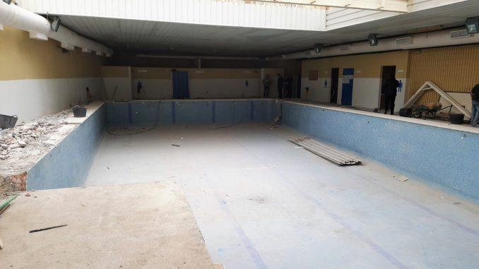 Comienzo de las obras en la antigua piscina de Segorbe