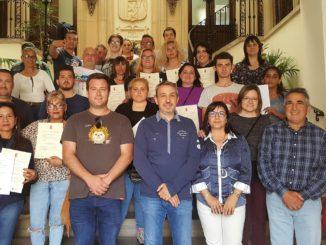 La entrega de diplomas se ha realizado en el Ayuntamiento de Segorbe