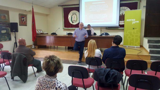 La reunión del IVAJ se celebró en el Ayuntamiento de Segorbe