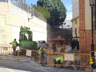 Retoman las obras en la calle José Gimeno Agius de Segorbe