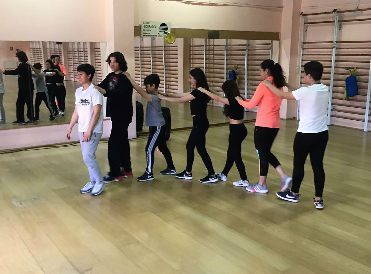 Taller de baile urbano en Segorbe
