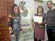 La Jefa de la Zona Básica de Salud de Segorbe, Gloria Rabanaque, junto a la coordinadora del área de Bienestar Social del Ayuntamiento de Segorbe, María José Pérez y el psicólogo municipal, Juan Pavía
