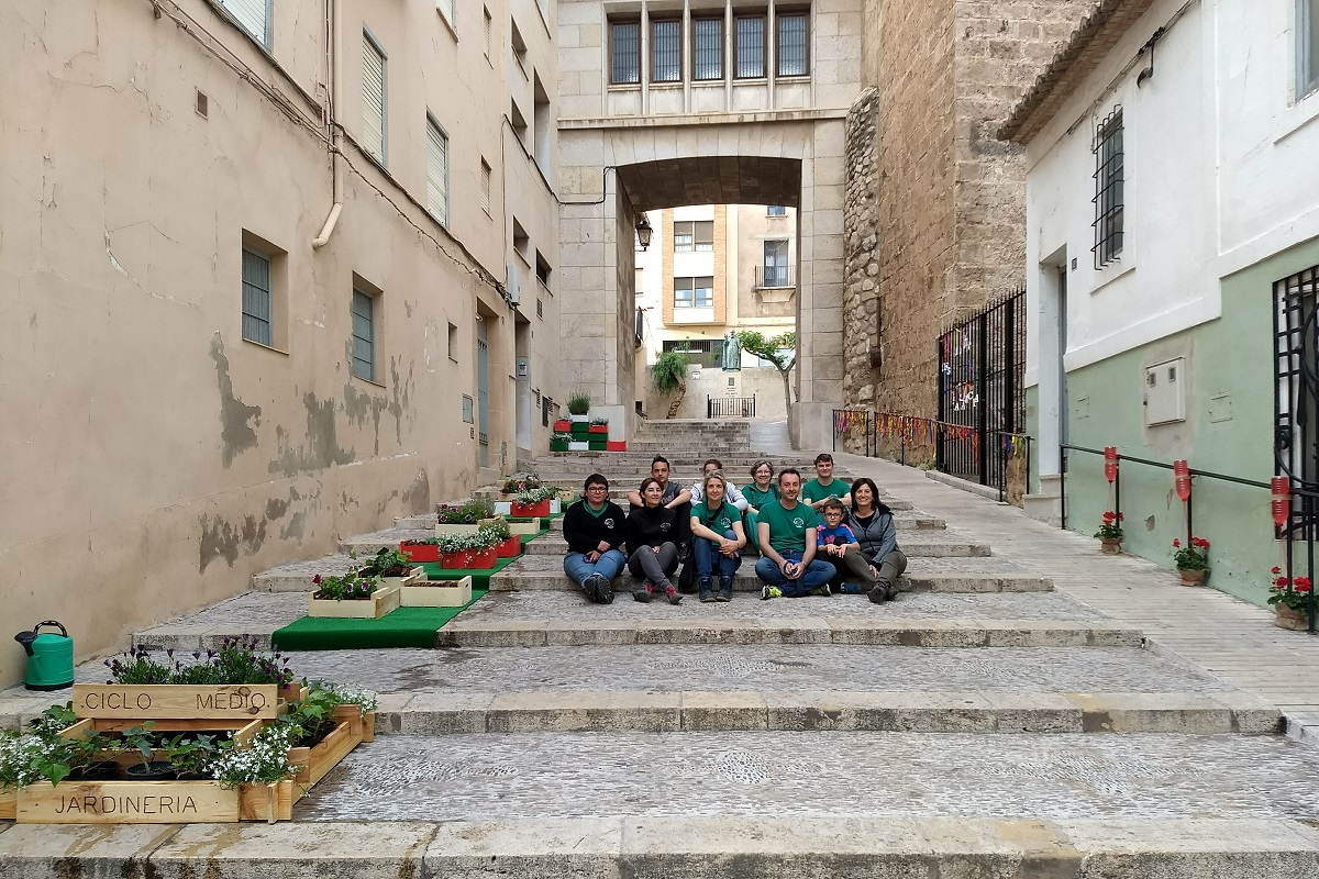 Jardín Efímero del IES Alto Palancia