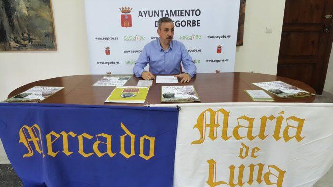 El Alcalde de Segorbe, Rafael Magdalena, ha presentado la VII edición del Mercado Medieval María de Luna
