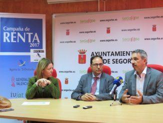 El Conseller, la Secretaria Autonómica y el Alcalde han ofrecido una rueda de prensa