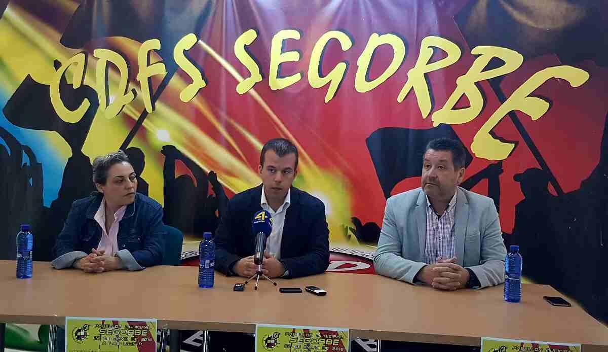 Rueda de prensa CDFS Segorbe