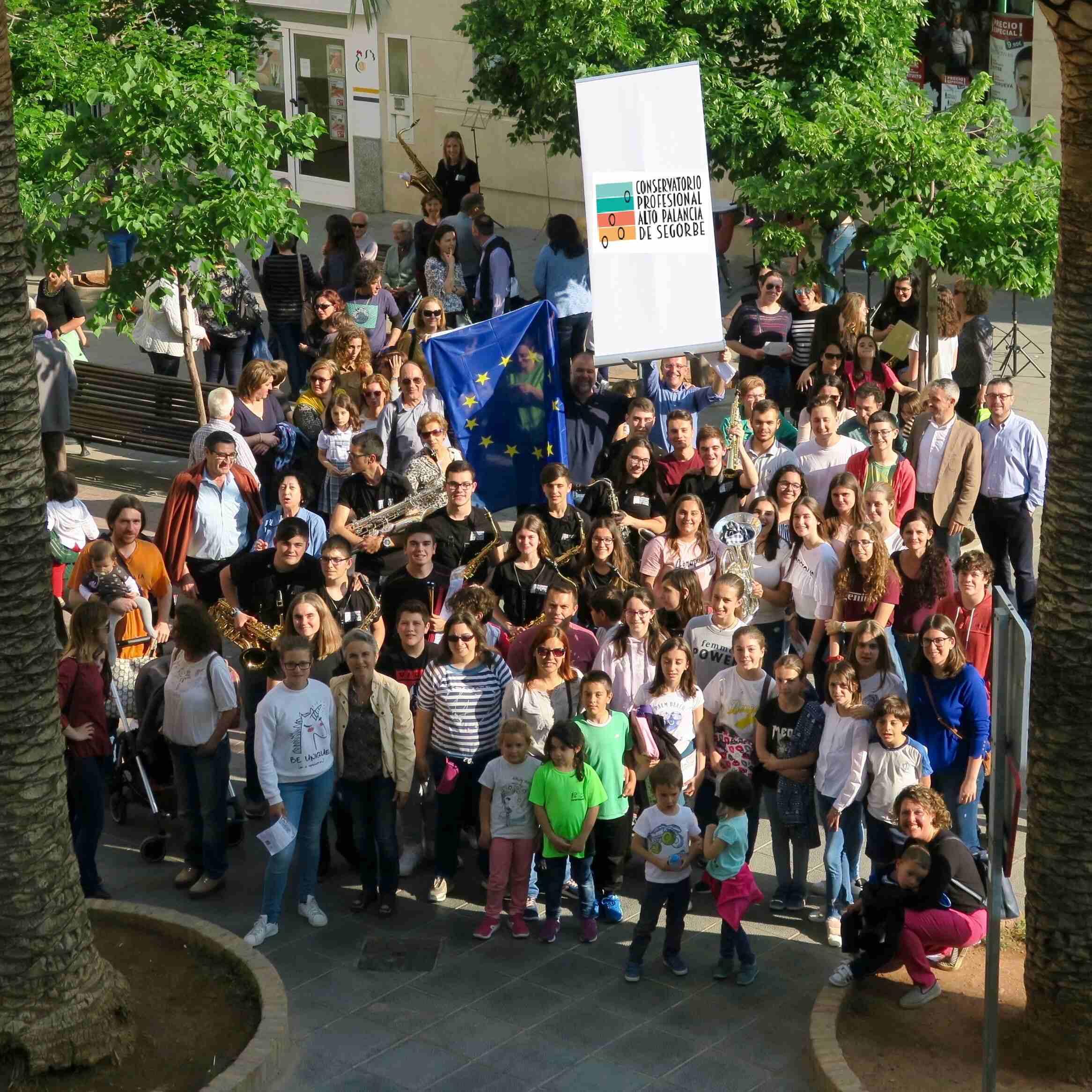 Conservatorio Profesional de Música Alto Palancia de Segorbe. Día de Europa