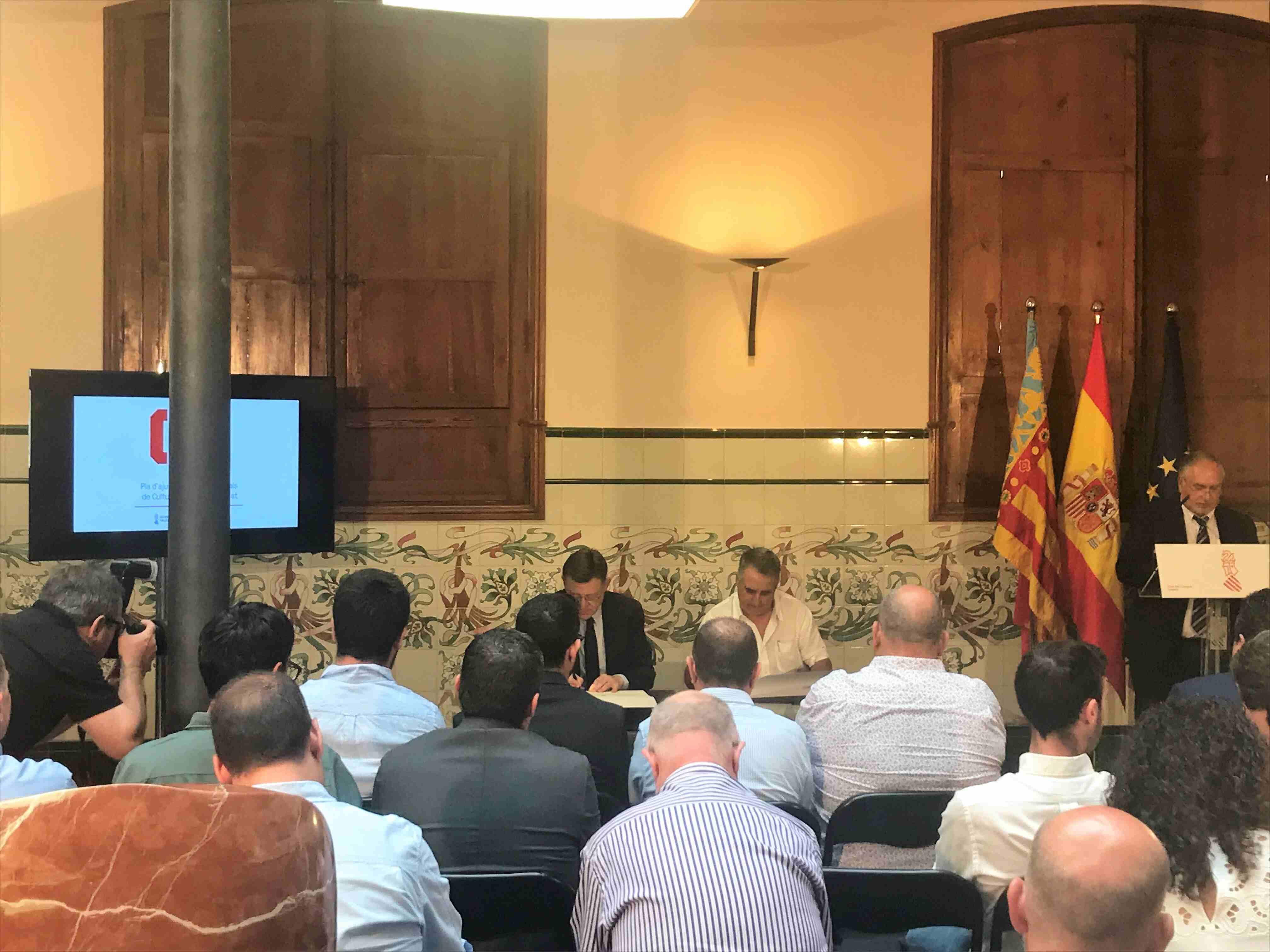 El Concejal Luis Gil firmó el acuerdode los fondos FEDER