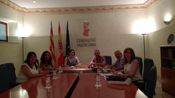 Reunión celebrada para el acuerdo de adhesión.