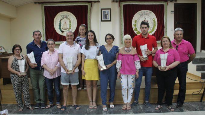 Los premios al Comercio 2018 se entregaron en el Salón de los Alcaldes del Ayuntamiento de Segorbe