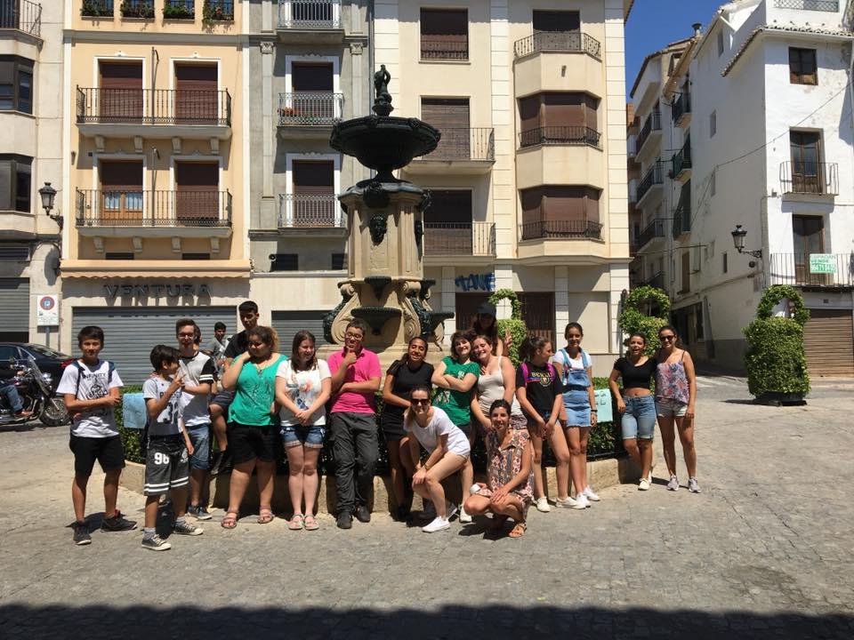 Participantes en la Escuela Juvenil de Verano