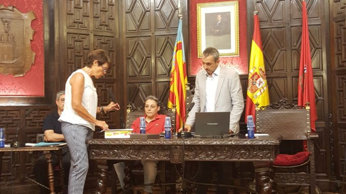 M.ª Amparo Escrig Marco ha tomado posesión como concejala del Ayuntamiento de Segorbe