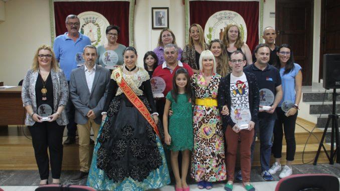 Participantes del Concurso de Escaparates 2018