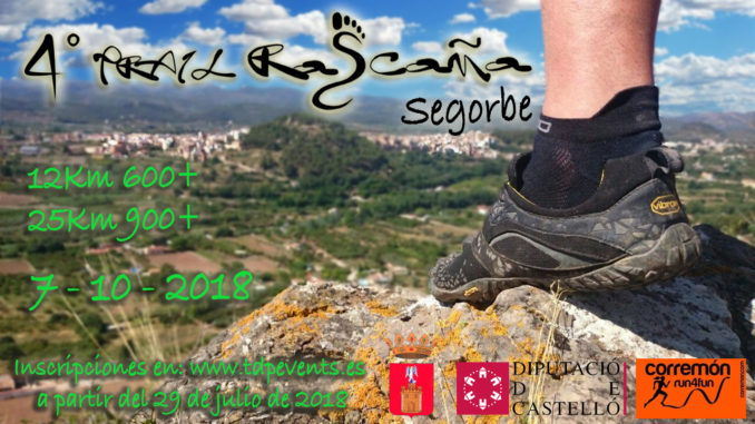 Cartel IV Trail Rascaña