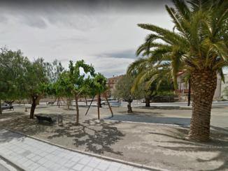 Parque de la calle Quijote de Segorbe