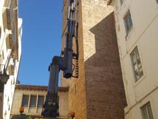 Reparación campanas campanario de Segorbe