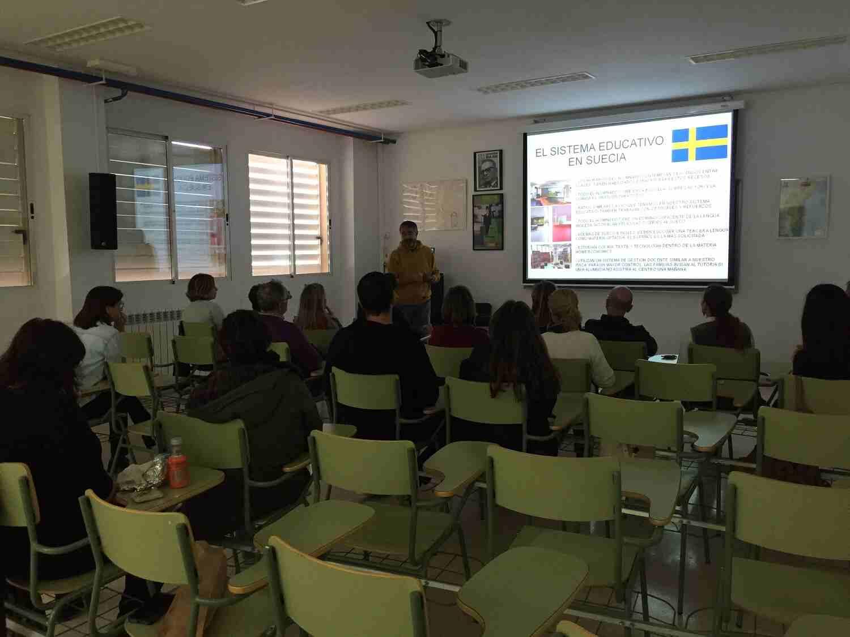Formación del proyecto Erasmus +