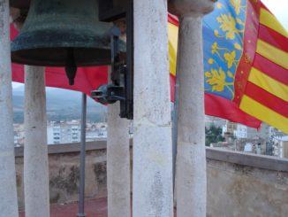 Campana de las horas. Campanario de la S.I. Catedral Basílica de Segorbe