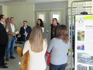 El vicerrector de Participación y Proyección Territorial, Jorge Hermosilla Pla, en su visita