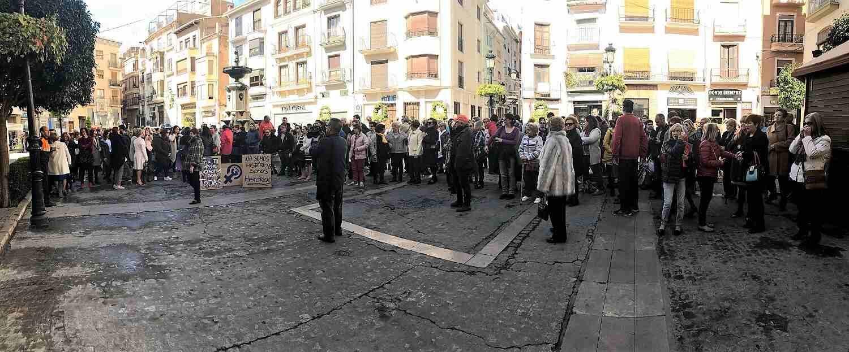 Abundantes personas han acudido al manifiesto por el Día de la Mujer en Segorbe