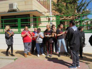 Entrega de obsequios a participantes y a la Punkadeira