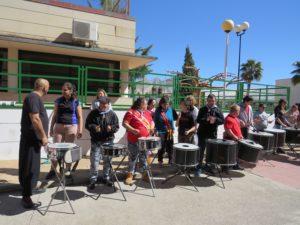 La Punkadeira ha actuado junto a miembros del Centro Ocupacional