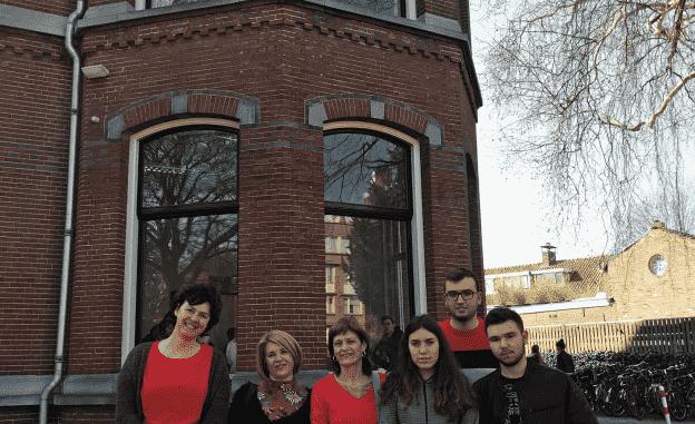 Profesorado y alumnado del IES Alto Palancia en Holanda