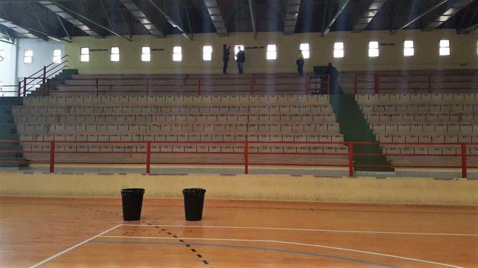 Revisión del pabellón polideportivo