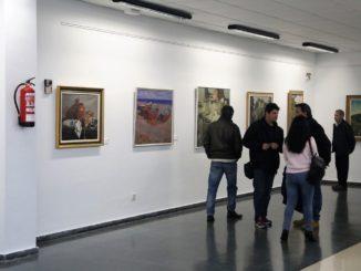 Una parte de la exposición aperturada este Sábado