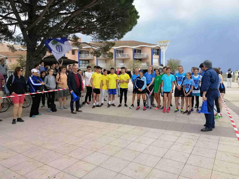 Uno de los encuentros deportivos celebrados en Andernós
