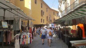 Mercado del jueves de Segorbe