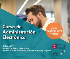 Curso de Administración Electrónica CEDES Segorbe
