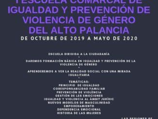 I Escuela Comarcal de Igualdad y Prevención de Violencia de Género del Alto Palancia