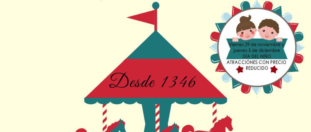 Cartel Feria de la Purísima y el Día del Niño