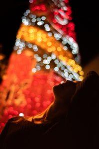 """Fotografía para el Concurso del Árbol de la Navidad titulada: """"LIBERTAD DE DESEO"""""""