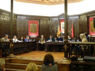Pleno del Ayuntamiento de Segorbe celebrado el 4 de diciembre de 2019. Imagen: Esperanza Orellana.