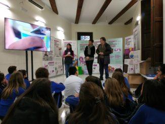 Taller de reciclaje dirigido a los alumnos de los colegios de Segorbe